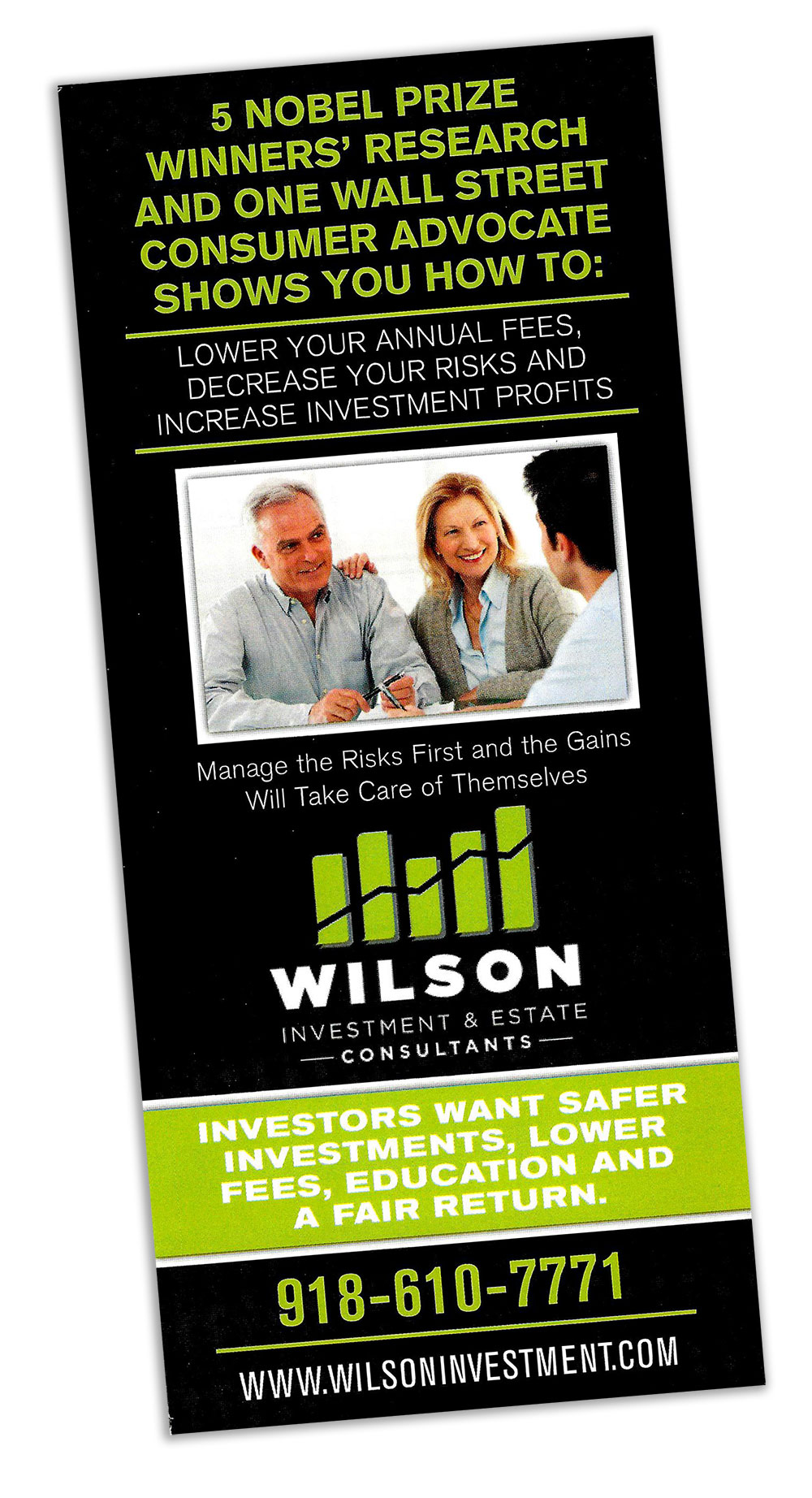 Wilson Investments Free Report
